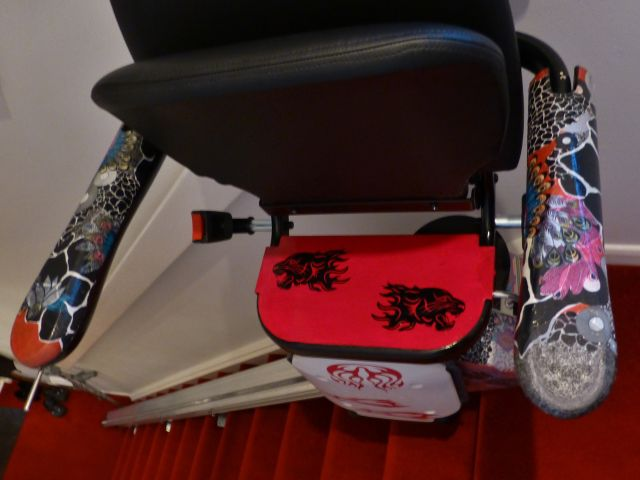 Customised stairlift
